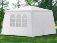 Bílý zahradní altán 3 x 3 m výprodej