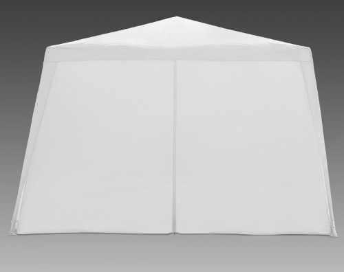 Levný bílý párty stan 3 x 3 m se čtyřmi bočnicemi