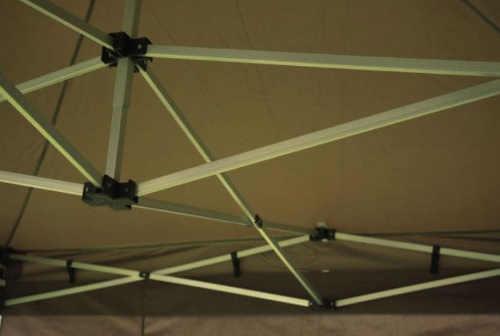Pevná střešní konstrukce párty stan 3 x 6 m