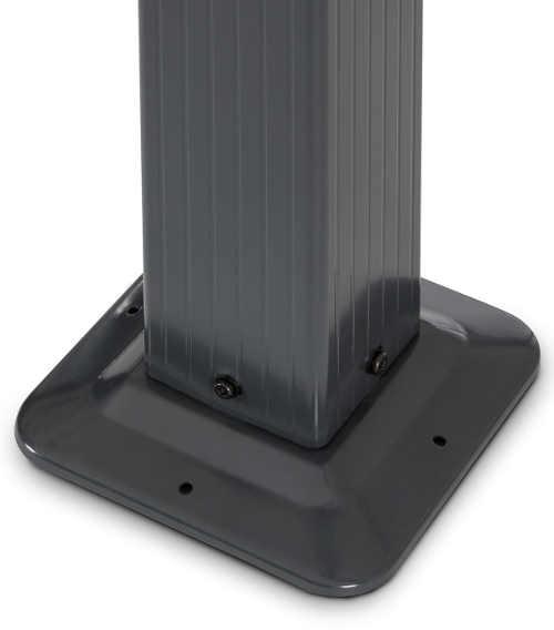Stabilní a přitom odlehčená hliníková konstrukce pergoly