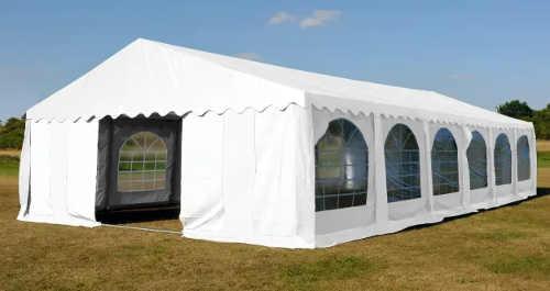 Bílý párty stan 6 x 12 m na svatby, rodinné oslavy a akce