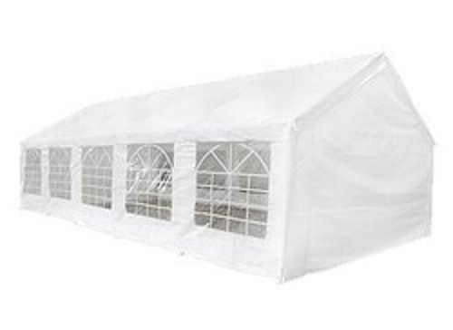 Elegantní bílý zahradní stan s rozměry 10 x 5 m