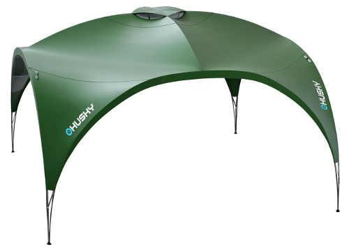 Zelený outdoorový přístřešek Husky Broof XL