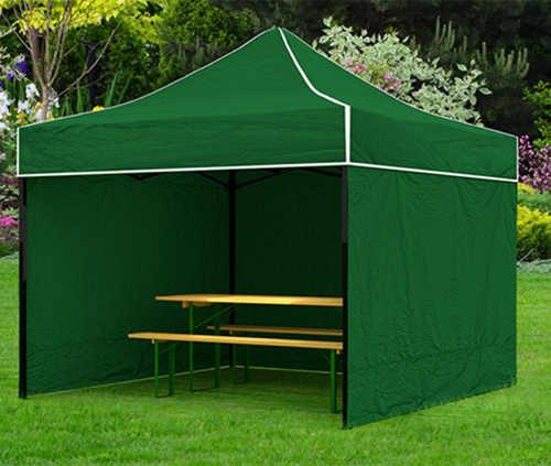 Zelený nůžkový párty stan 2x2 metry