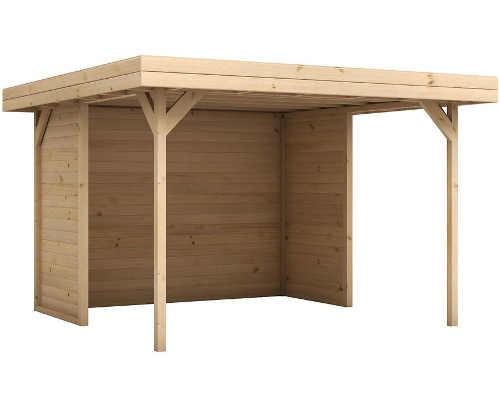 Moderní zahradní altán ze smrkového dřeva