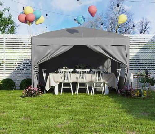 Rychloskládací párty stan na zahradní oslavy