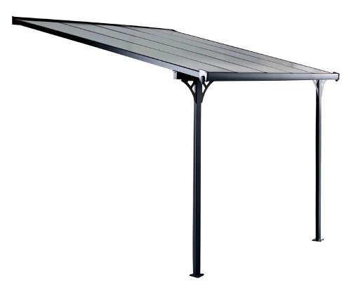 Zastřešení terasy s polykarbonátovou střechou
