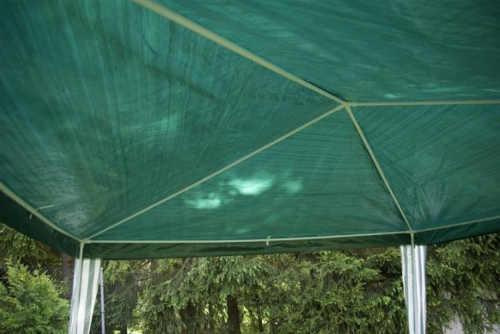Zelený zahradní altán 3 x 3 m