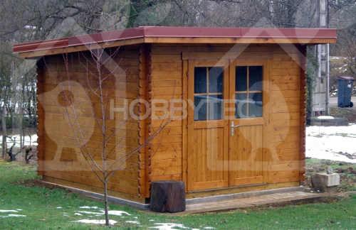 Dřevěný  domek na zahrádku podlaha devět metrů čtverečních