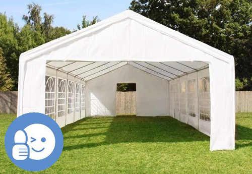 Velký zahradní stan 4 x 10 m pro svatby, velké oslavy a večírky
