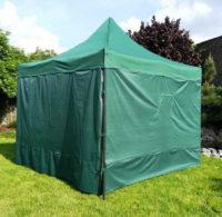 Zelený zahradní stan nebo stánek vč. 4 vysoce kvalitních bočních stěn