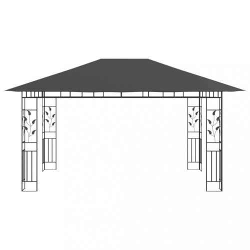 moderní altán rozměr 4x3 m