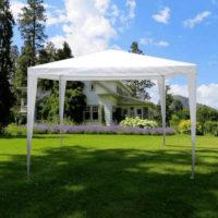 Zahradní altán v klasickém designu bílý či modrý