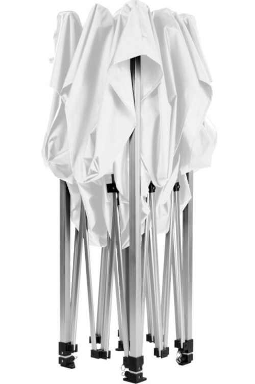 nůžkový bílý párty stan 3x3
