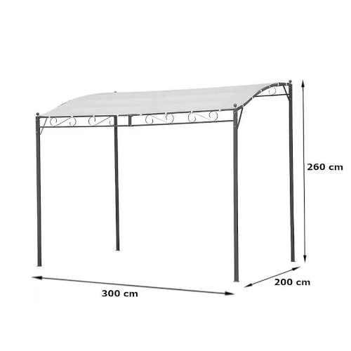 zahradní pavilon 2x3 m